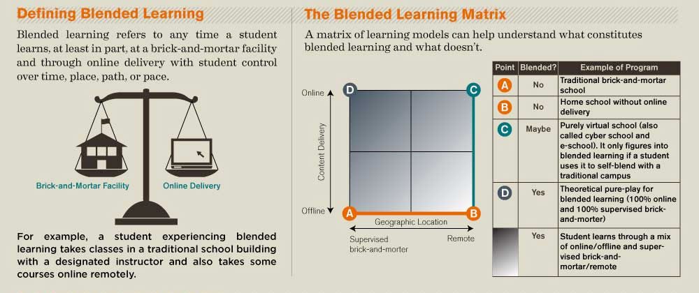 Blended Learning Infographic